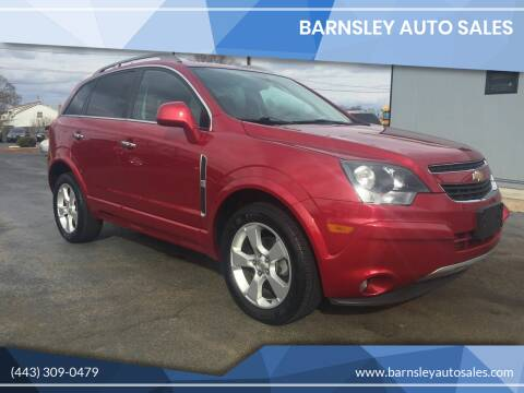 2015 Chevrolet Captiva Sport Fleet for sale at Barnsley Auto Sales in Oxford PA