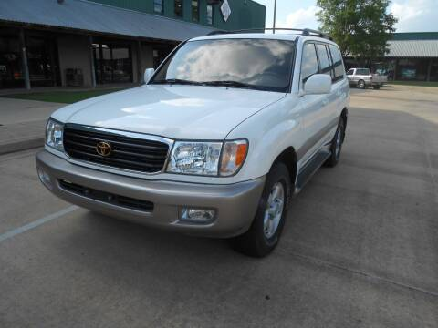 2000 Toyota Land Cruiser for sale at Cooper's Wholesale Cars in West Point MS