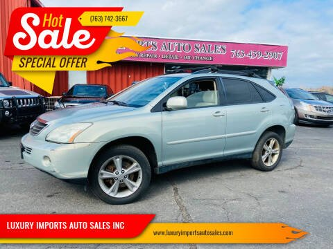 2006 Lexus RX 400h for sale at LUXURY IMPORTS AUTO SALES INC in North Branch MN
