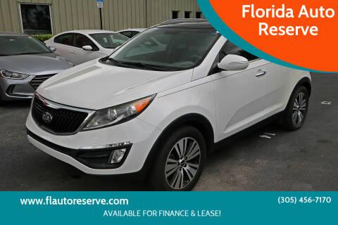 2015 Kia Sportage for sale at Florida Auto Reserve in Medley FL