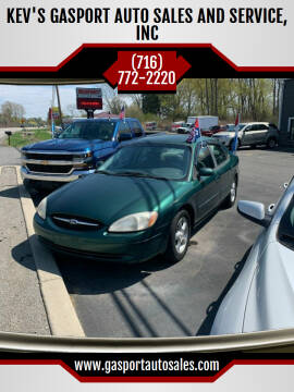 2000 Ford Taurus for sale at KEV'S GASPORT AUTO SALES AND SERVICE, INC in Gasport NY