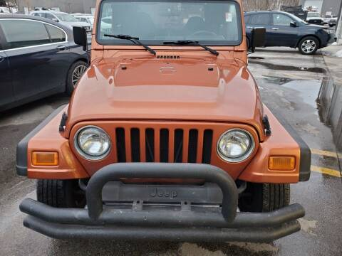 2002 Jeep Wrangler for sale at MX Motors LLC in Ashland MA