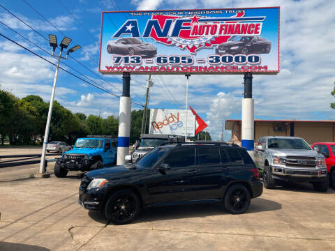2015 Mercedes-Benz GLK for sale at ANF AUTO FINANCE in Houston TX