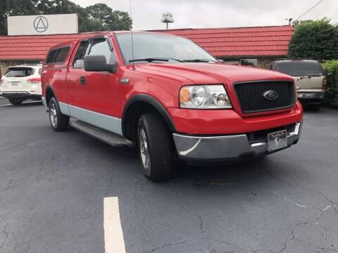 2004 Ford F-150 for sale at L & M Auto Broker in Stone Mountain GA