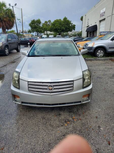 2005 Cadillac CTS for sale at INTERNATIONAL AUTO BROKERS INC in Hollywood FL