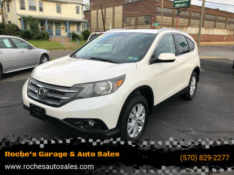 2013 Honda CR-V for sale at Roche's Garage & Auto Sales in Wilkes-Barre PA