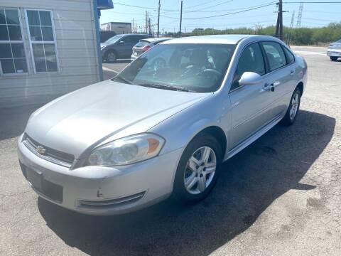 2010 Chevrolet Impala for sale at Silver Auto Partners in San Antonio TX