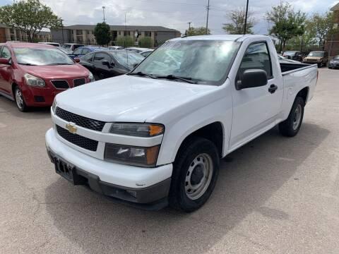 2012 Chevrolet Colorado for sale at Legend Auto Sales in El Paso TX