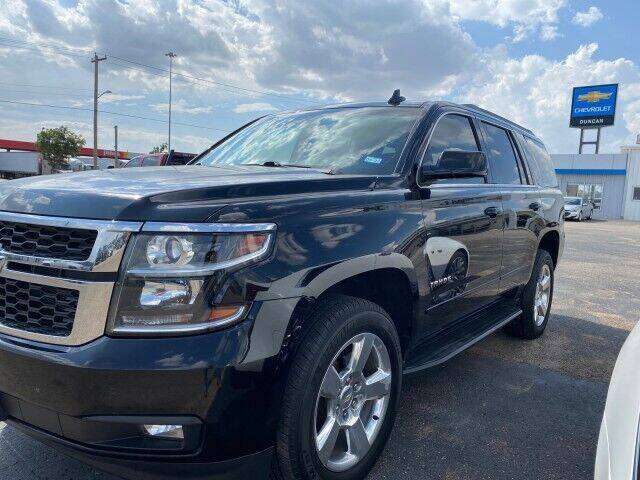 2015 Chevrolet Tahoe for sale at Bulldog Motor Company in Borger TX