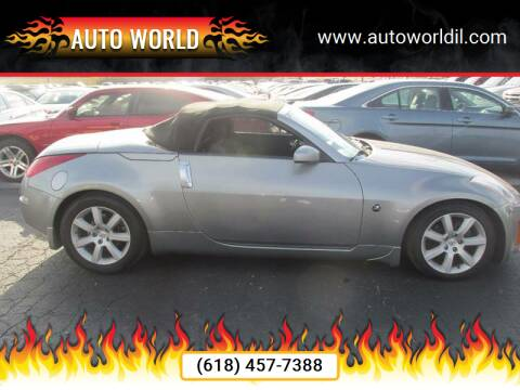 2005 Nissan 350Z for sale at Auto World in Carbondale IL