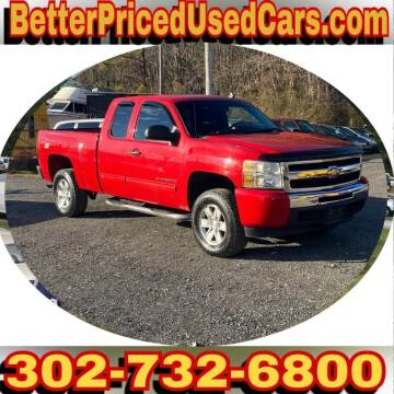 2010 Chevrolet Silverado 1500 for sale at Better Priced Used Cars in Frankford DE