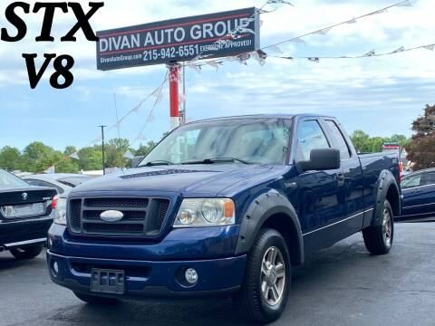 2008 Ford F-150 for sale at Divan Auto Group in Feasterville PA