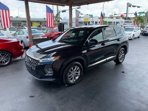 2019 Hyundai Santa Fe for sale at American Auto Sales in Hialeah FL