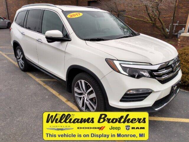 2017 Honda Pilot for sale at Williams Brothers - Pre-Owned Monroe in Monroe MI