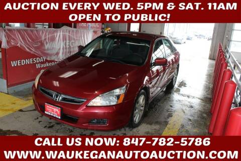 2007 Honda Accord for sale at Waukegan Auto Auction in Waukegan IL