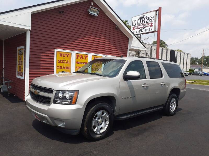 2007 Chevrolet Suburban for sale at Mack's Autoworld in Toledo OH