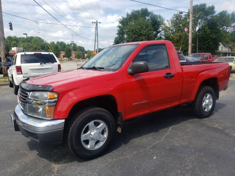 2004 GMC Canyon for sale at COLONIAL AUTO SALES in North Lima OH