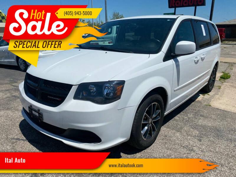 2017 Dodge Grand Caravan for sale at Ital Auto in Oklahoma City OK