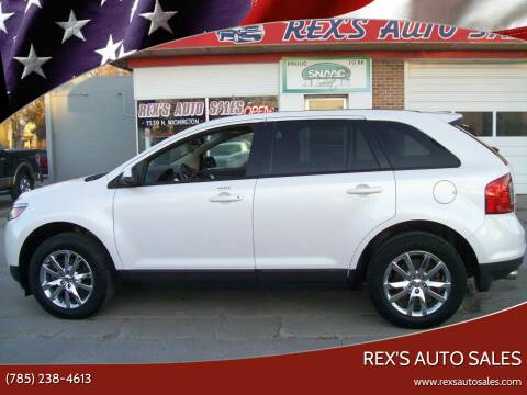 2012 Ford Edge for sale at Rex's Auto Sales in Junction City KS