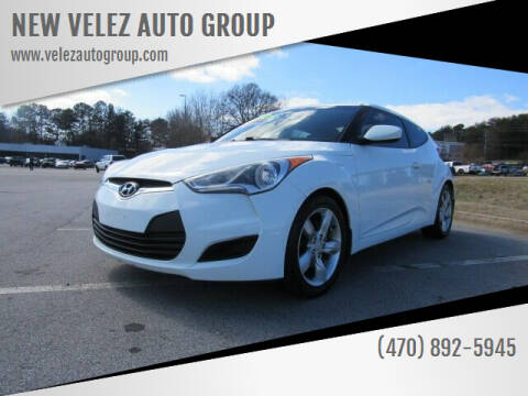 2012 Hyundai Veloster for sale at NEW VELEZ AUTO GROUP in Gainesville GA
