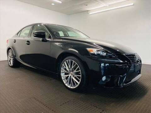 2014 Lexus IS 250 for sale at Champagne Motor Car Company in Willimantic CT