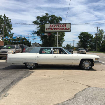1976 Cadillac Fleetwood Brougham for sale at Action Auto Wholesale in Painesville OH