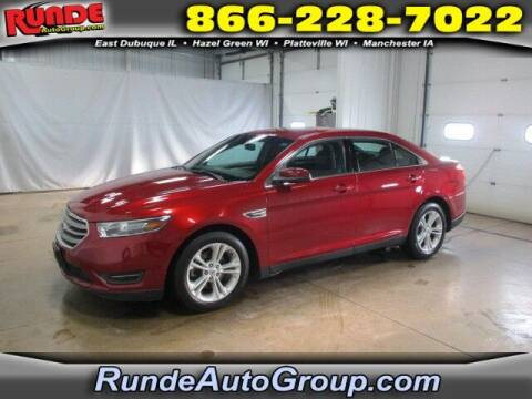 2017 Ford Taurus for sale at Runde Chevrolet in East Dubuque IL