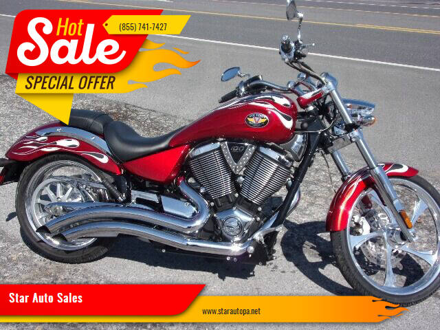 2008 Victory Vegas for sale at Star Auto Sales in Fayetteville PA