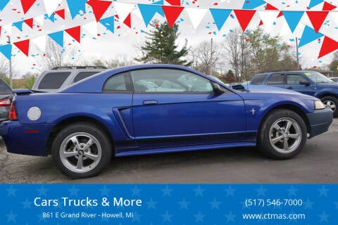 2002 Ford Mustang for sale at Cars Trucks & More in Howell MI