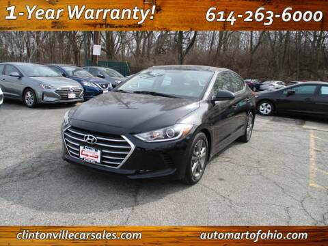 2018 Hyundai Elantra for sale at Clintonville Car Sales in Columbus OH