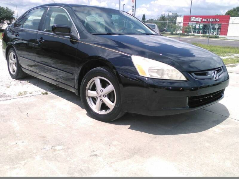 2003 Honda Accord for sale at Warren's Auto Sales, Inc. in Lakeland FL