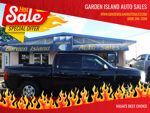 2008 Chevrolet Silverado 1500 for sale at Garden Island Auto Sales in Lihue HI