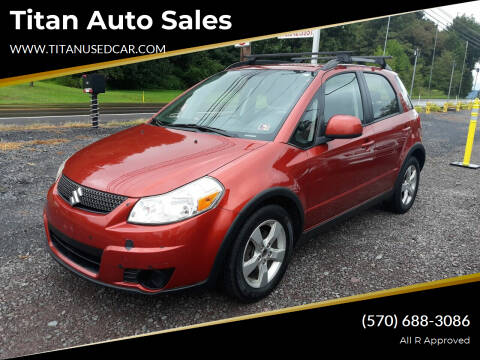 2012 Suzuki SX4 Crossover for sale at Titan Auto Sales in Berwick PA