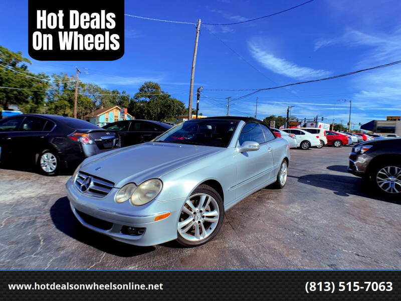 2007 Mercedes-Benz CLK for sale at Hot Deals On Wheels in Tampa FL