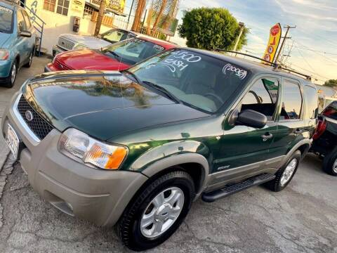 2002 Ford Escape for sale at Olympic Motors in Los Angeles CA