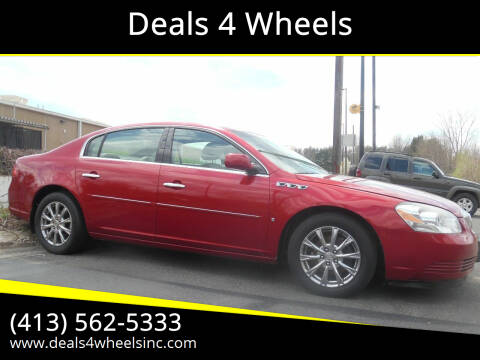 2009 Buick Lucerne for sale at Deals 4 Wheels in Westfield MA