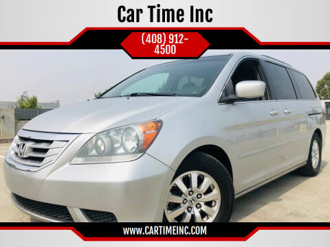 2010 Honda Odyssey for sale at Car Time Inc in San Jose CA