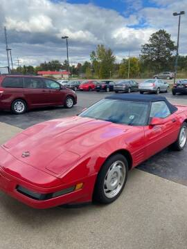 1991 Chevrolet Corvette for sale at DAVE KNAPP USED CARS in Lapeer MI