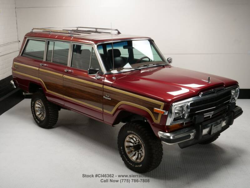1985 Jeep Grand Wagoneer for sale at Sierra Classics & Imports in Reno NV