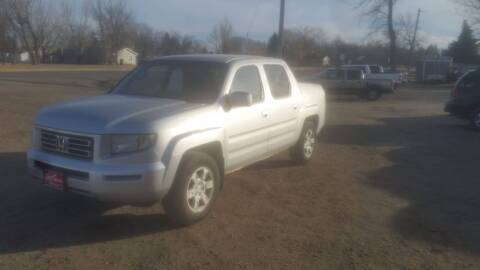 2006 Honda Ridgeline for sale at Ron Lowman Motors Minot in Minot ND