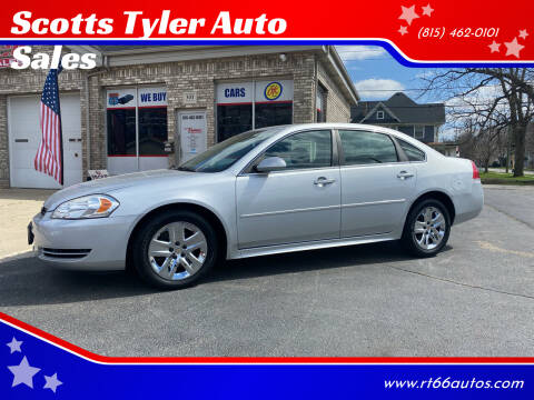 2010 Chevrolet Impala for sale at Scotts Tyler Auto Sales in Wilmington IL