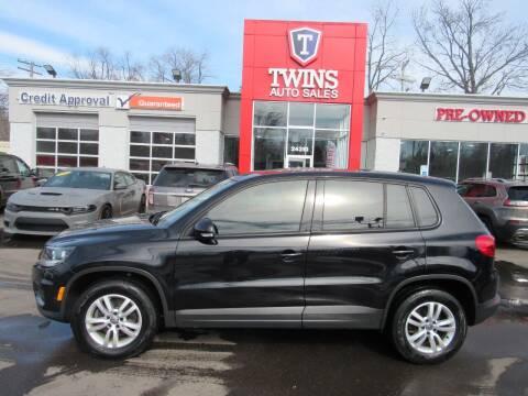 2013 Volkswagen Tiguan for sale at Twins Auto Sales Inc in Detroit MI