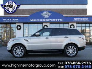 2014 Land Rover Range Rover Sport for sale at Highline Group Motorsports in Lowell MA