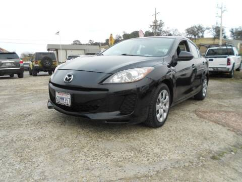 2012 Mazda MAZDA3 for sale at Mountain Auto in Jackson CA