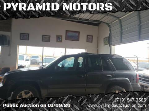 2005 Chevrolet TrailBlazer for sale at PYRAMID MOTORS - Pueblo Lot in Pueblo CO