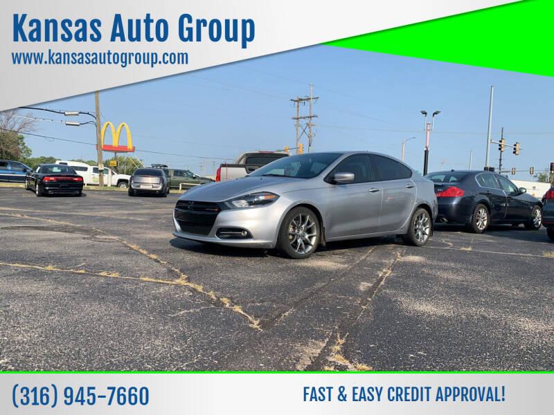 2014 Dodge Dart for sale at Kansas Auto Group in Wichita KS