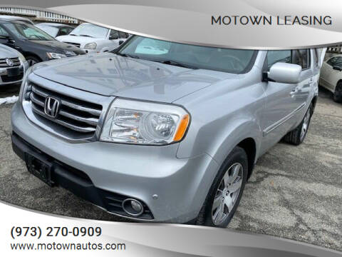 2014 Honda Pilot for sale at Motown Leasing in Morristown NJ