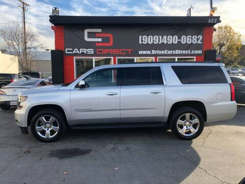 2015 Chevrolet Suburban for sale at Cars Direct in Ontario CA