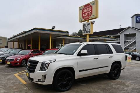 2015 Cadillac Escalade for sale at Houston Used Auto Sales in Houston TX