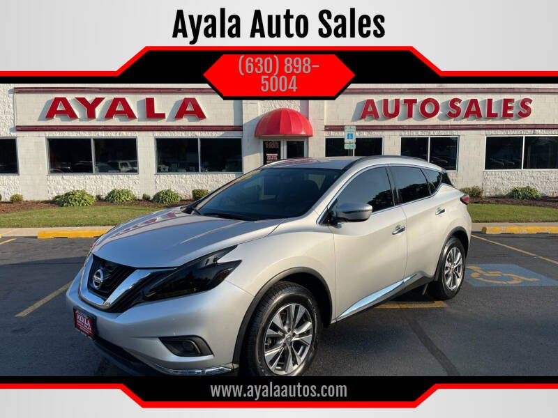 2018 Nissan Murano for sale at Ayala Auto Sales in Aurora IL